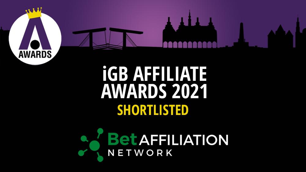 BetAffiliation - Quattro nomination iGB Affiliates 2021
